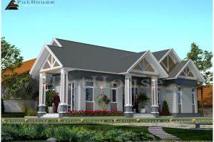 Tổng quan thiết kế nhà vườn 1 tầng Vĩnh Phúc
